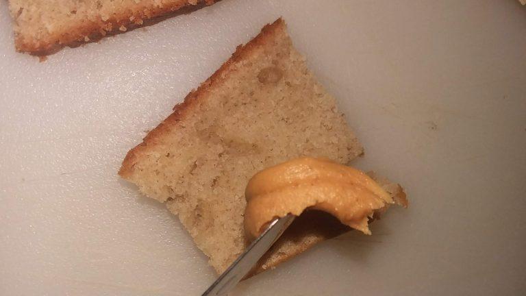 Banana Bread Peanut Butter Honey Sandwich Bites